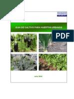 Guía de Cultivos Para Huertos Urbanos