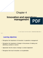 Innovation and Operations Management