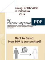 Epidemiologi of Hiv Aids Copy