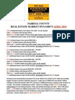 Market Dynamics - Fairfax APR15