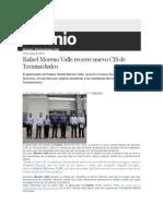 13-05-2015 Sexenio - Rafael Moreno Valle Recorre Nuevo CIS de Tecamachalco