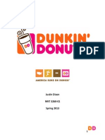 Dunkin' Donuts Marketing Strategy