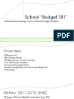 Town and School Budget - Initial Presentation