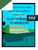 10. GESTION de RR.ss. Prod. Residuos y Minimiz.