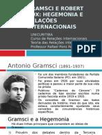 4. Gramsci e Robert Cox Hegemonia e Relações Internacionais (Atualizado)