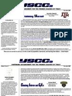 YSCCa Newsletter (Dec-09)