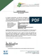 187 Certificacion MP