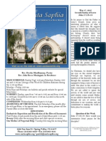 Bulletin for May 17, 2015