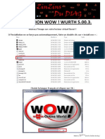 Installation Wow Wurth 5.00.3
