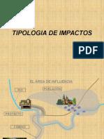 tipologia de impactos