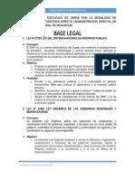Base Legal y Terminos