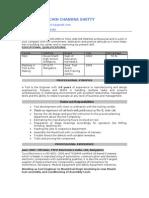 Resume for the mechanical enginner or tool maker