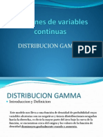 Distribución Gamma