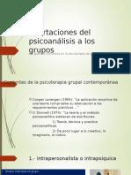 Aportaciones Del Psicoanálisis a Los Grupos Exposicion Cap. 5