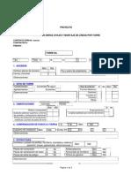 Recepción Obras Civiles y Montaje de Líneas Po