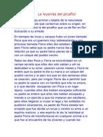 La Leyenda Del Picaflor