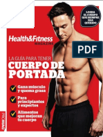 Healt & Fitness Magazine Mexico - La Guia Para Tener Cuerpo de Portada - 2014