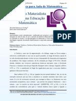 Dialeitca Materialista Historica Em Educação Matemática