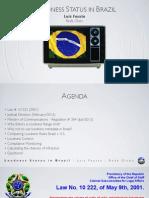 Loudness Status in Brazil