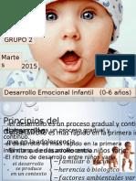 Desarrollo Emociona Infantil (0-6)