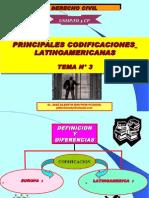 Derecho Civil Nº 3 Codificaciones Latinoam.