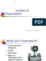 Fundamentals of Flowmeters