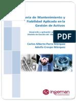 Ingeniería Mantenimiento y Fiabilidad en La Gestión Activos