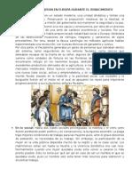 Cambios Que Se Produjeron en Europa Durante El Renacimiento