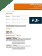 Formato3.1 de curriculum