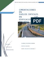 Cimentacion en El Peru