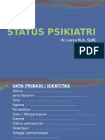 Anamnesis Status Psikiatri Dr. Luana