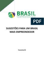 Relatório sobre Empreendedorismo no Brasil