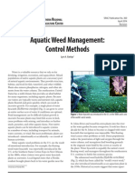 Aquatic Weed Management Control Methods