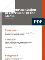 the representation of christians in the media