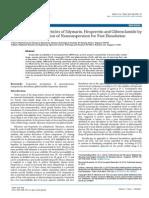 Fabrication of Nanoparticles of Silymarin Hesperetin and Glibenclamide by Evaporative Precipitation of Nanosuspension 2153 2435.1000326