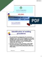 Fusion Welding Proc Heating