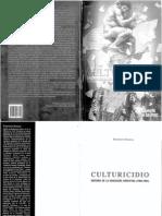 ROMERO, Francisco Culturicidio