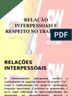 RELAÇÃO INTERPERSSOAL