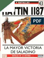Ejercitos y Batallas Hattin 1187
