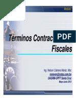 2013 Mod1 05C Terminos Contractuales y Fiscales