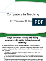 computers in teaching