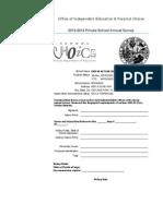 Private School - Annual Survey Private School - Annual SurveyPrivate School - Annual SurveyPrivate School - Annual Survey