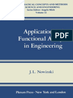 Applications of Functional Analysis in Engineering
