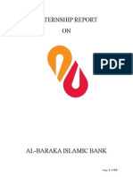 Al-baraka Islamic Bank Internship Report