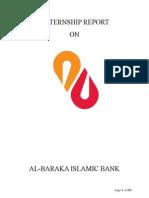 Al-baraka Islamic Bank Internship Report