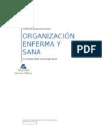 Organizaciones Enfermizas y Sanas