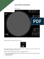 Instrucciones de Operacion Del Radar de Puente Maestro