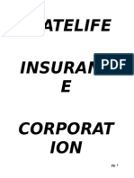 Internship Report on Statelife Insurance Corporation