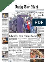 The Daily Tar Heel for Feb. 8, 2010
