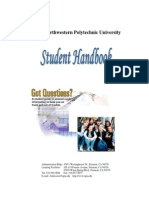 Student Handbook 2014